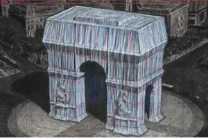 L'Arc de Triomphe bientot empaquete par Christo